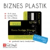 Biznes Karty PLASTIK - 0,7mm PVC