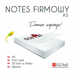 Notes firmowy A5