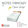 Notes firmowy A6